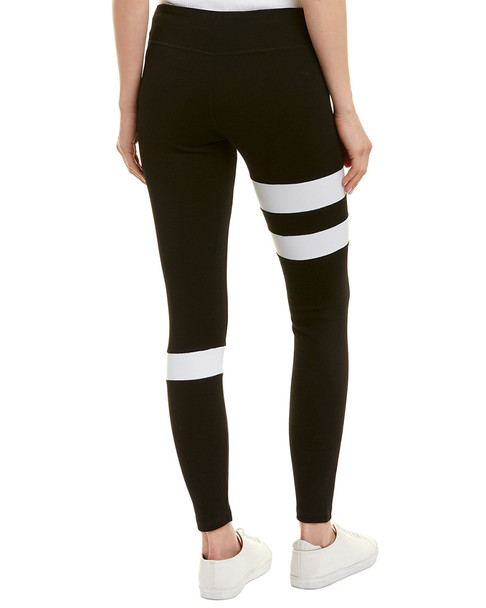 bobi Stripe Trim Legging~1411319767