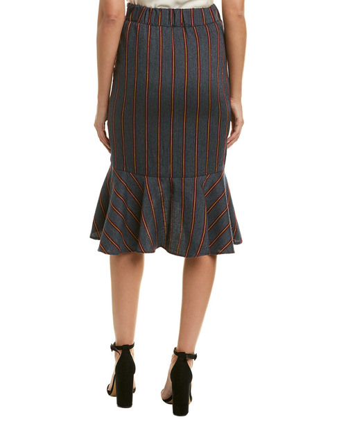 Moon River Asymmetrical Midi Skirt~1411656105