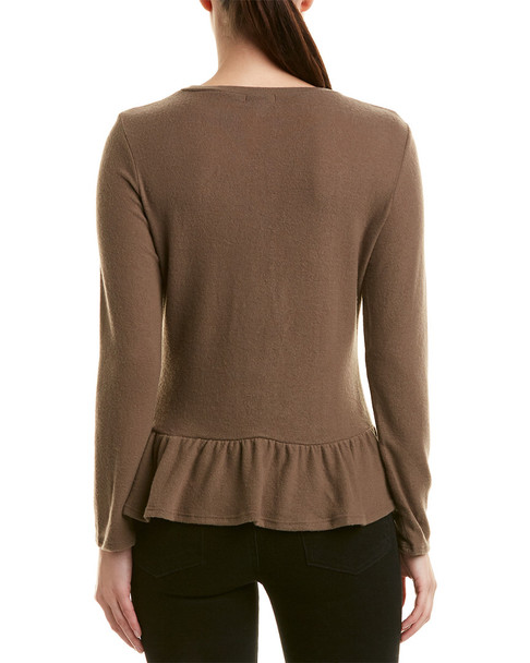 Lucca Couture Kathryn Peplum Top~1411720233