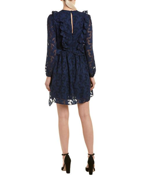 Walter Baker Burnout Mini Dress~1411965616