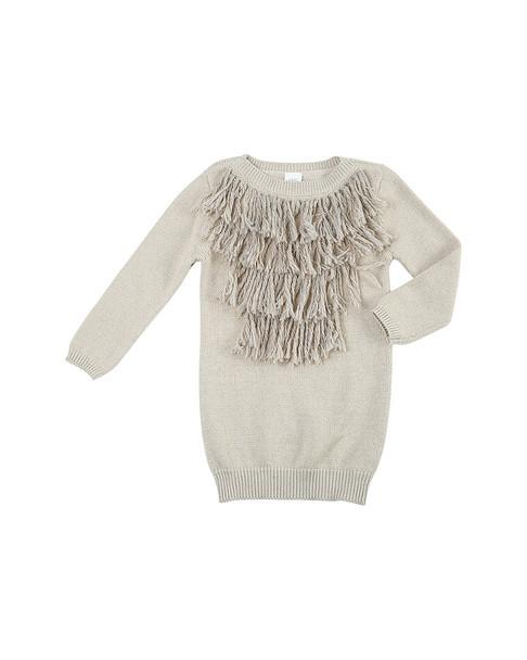 EGG Amber Fringe Dress~1511662083
