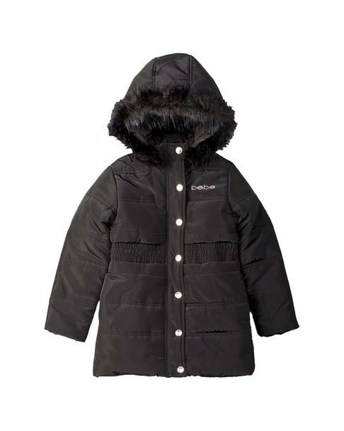 bebe Long Puffer Coat~1511989562