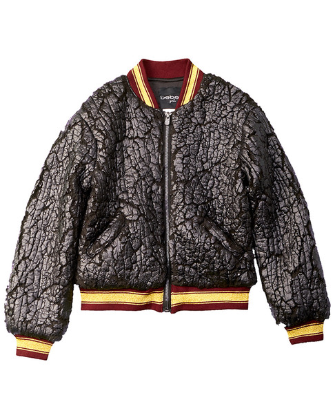 bebe Bomber Jacket~1511989601