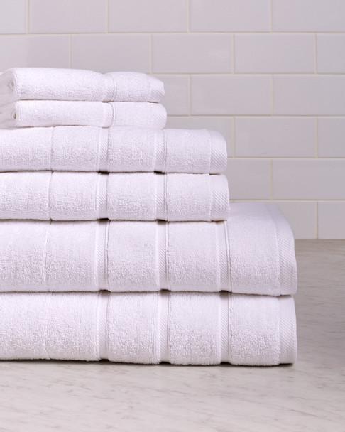 Bellino Villa Stripe Border 6pc Towel Set~3030720746