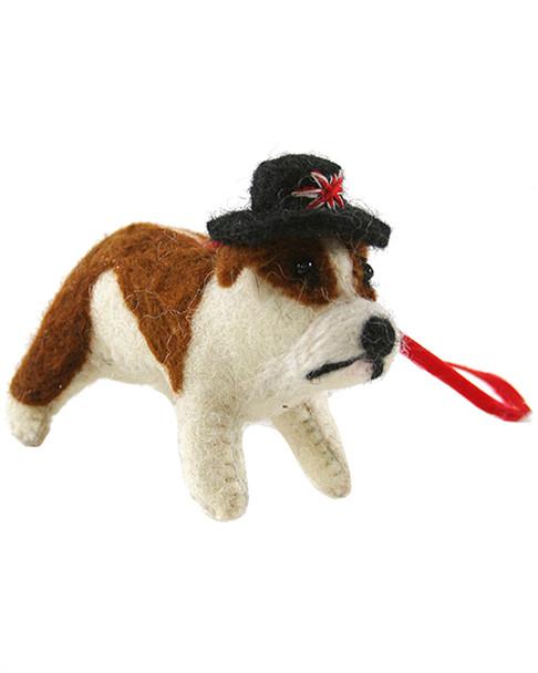 Cody Foster British Bulldog Ornament~3050692407