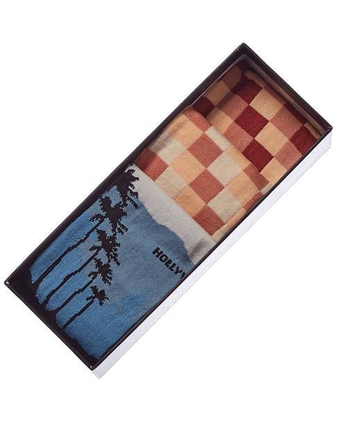Checkerbox Pack of 3 Socks~1010010443