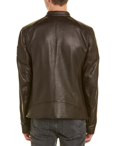 Belstaff A.Racer Leather Jacket~1221820992