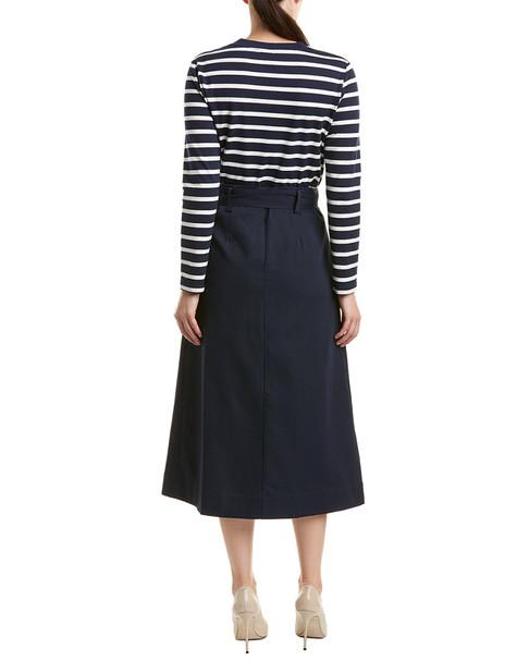 BURRYCO 2pc Skirt & Blouse Set~1411005355