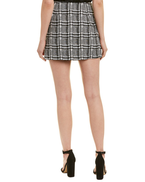 Moon River Tweed Mini Skirt~1411010503