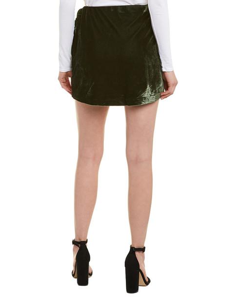 Cupcakes and Cashmere Koshi Velvet Wrap Skirt~1411010860