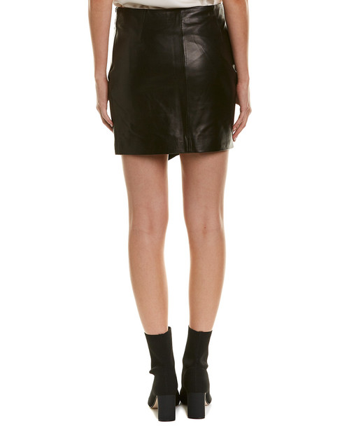 IRO Caral Leather Skirt~1411040308