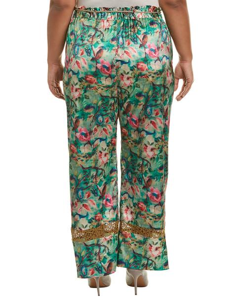 ELVI Floral Satin Skirt~1411248815