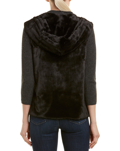 Lavender Brown Hooded Vest~1411701654