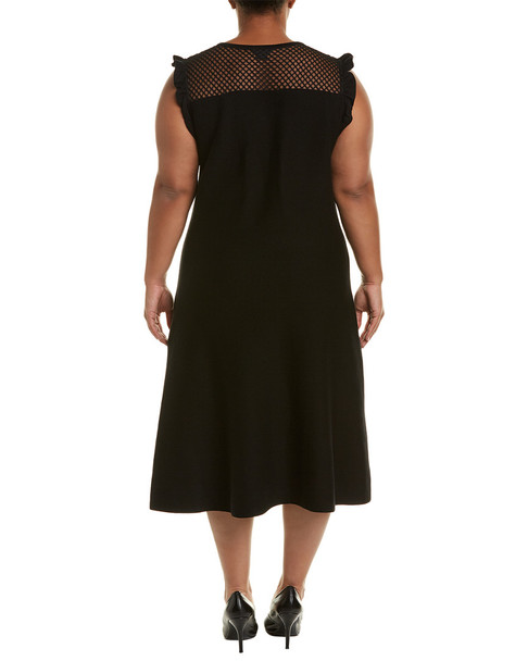 CITY CHIC Ribbed A-Line Dress~1411918988