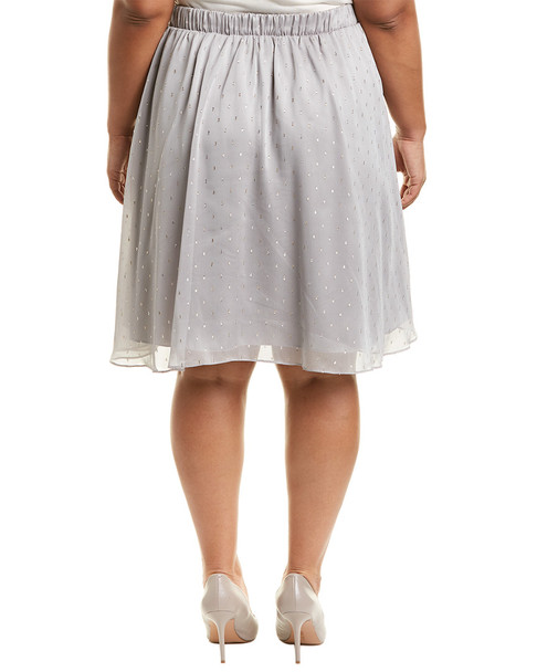 Marybelle Plus Chiffon Skirt~1411954774