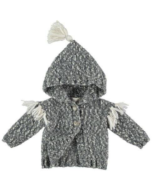 Buho Koala Wool-Blend Jacket~1511809607