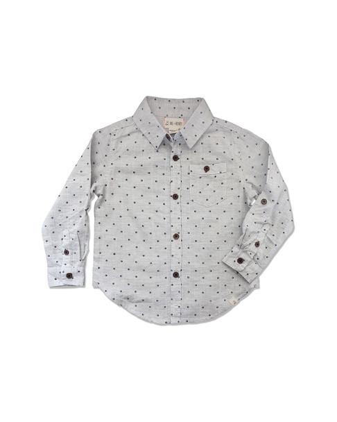 Me & Henry Grey Spot Shirt~1511953875