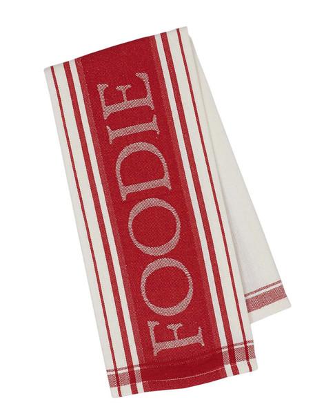 Design Imports Set of 4 Foodie Jacquard Dish Towels~3010816890