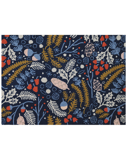 Peking Handicraft Festive Forage Wool Hook Rug~3041716164