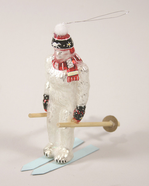 Set of 6 Downhill Yeti Ornaments~3050280396