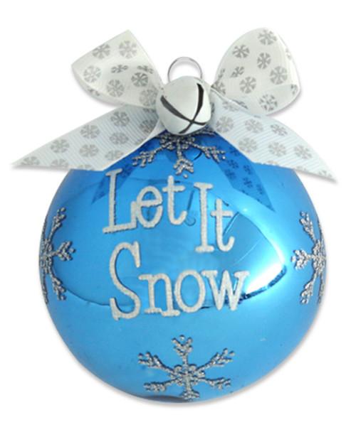 Kat & Annie Set of 6 Let it Snow Ornaments~3050560038