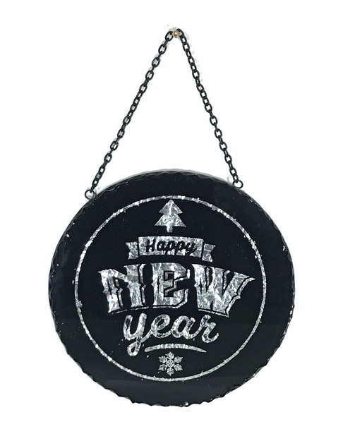 Cody Foster Happy New Year Circle Sign~3050692402
