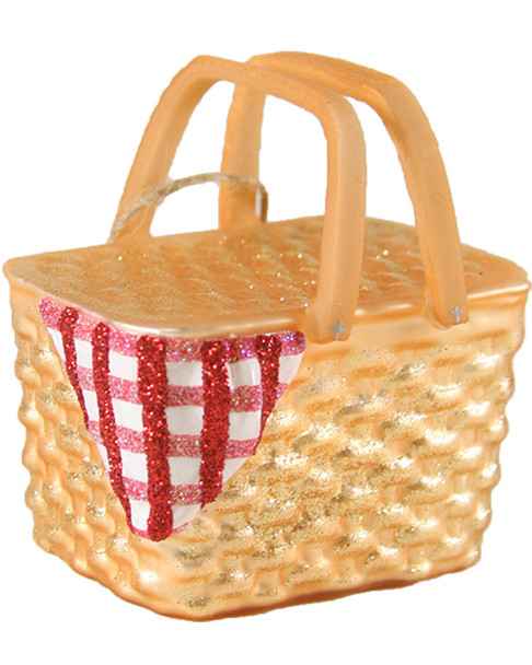 Cody Foster Set of 6 Picnic Basket Ornaments~3050692443
