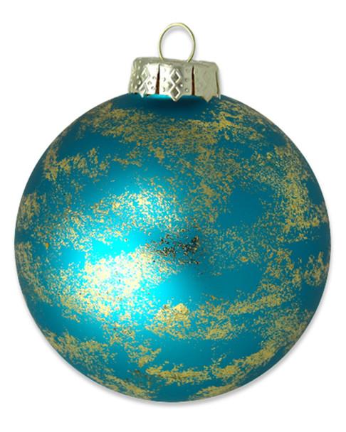 Kat & Annie Glittered Turquoise Round~3050758839