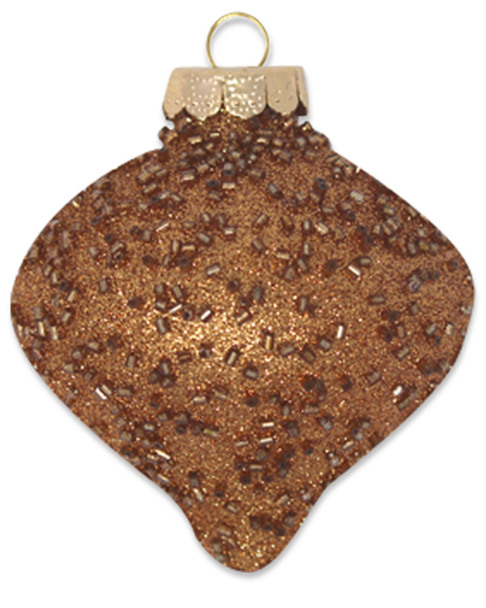 Kat & Annie Bronze Onion with Beaded Detail~3050758843