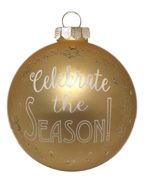 """Kat & Annie Gold """"Celebrate the Season"""" Round~3050994622"""