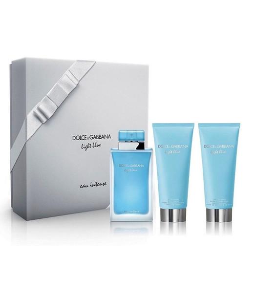 Dolce & Gabbana Light Blue Eau Intense 3-Piece Set~3423473035510