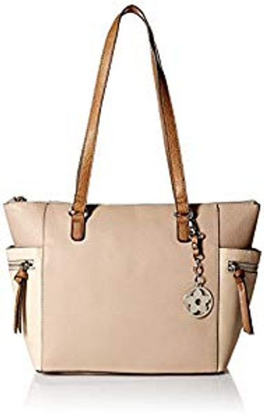 Bueno of California Tri Tone Tote~TMP-35110E-275