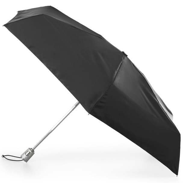 totes SunGuard One-touch Auto Open Close Compact Umbrella with NeverWet~8704
