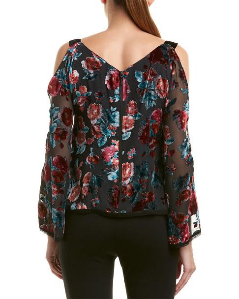 Nanette Lepore Silk-Blend Top~1050836636