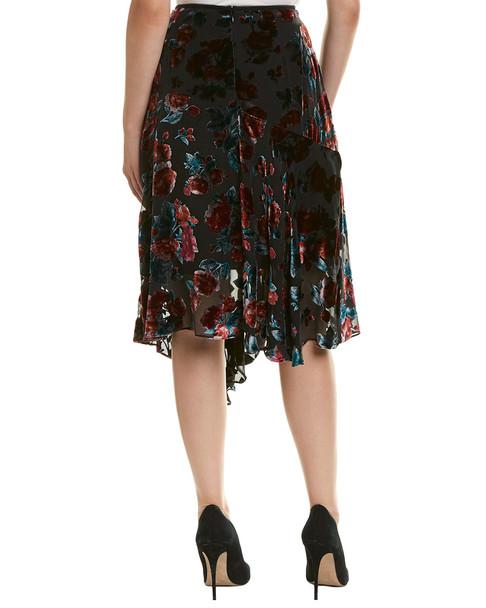 Nanette Lepore Silk-Blend Skirt~1050918254