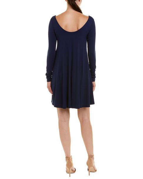 susana monaco Off-The-Shoulder Shift Dress~1411870164