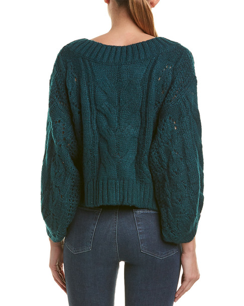 Allison New York Cable-Knit Sweater~1411924456