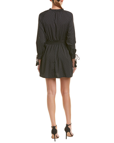 Allison New York Smocked Mini Dress~1411924477