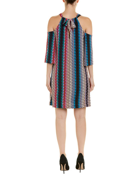 Trina Turk Cold-Shoulder Shift Dress~1411951837