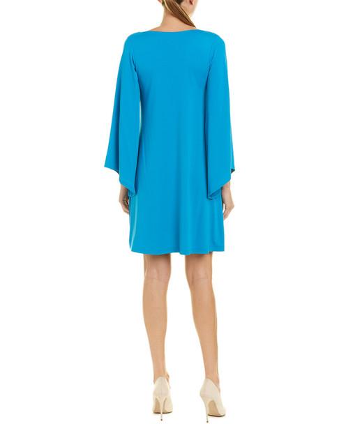susana monaco Angled Bell-Sleeve Shift Dress~1411985458