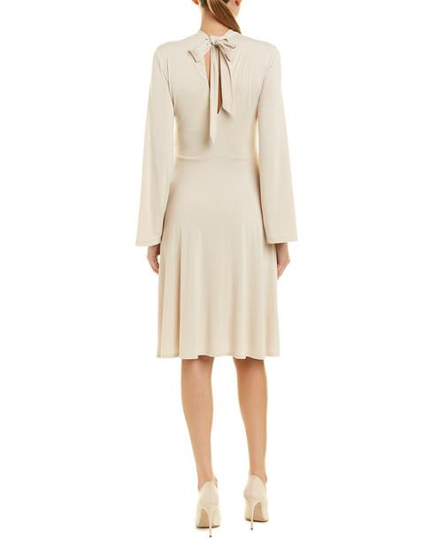 susana monaco Keyhole A-Line Dress~1411985464