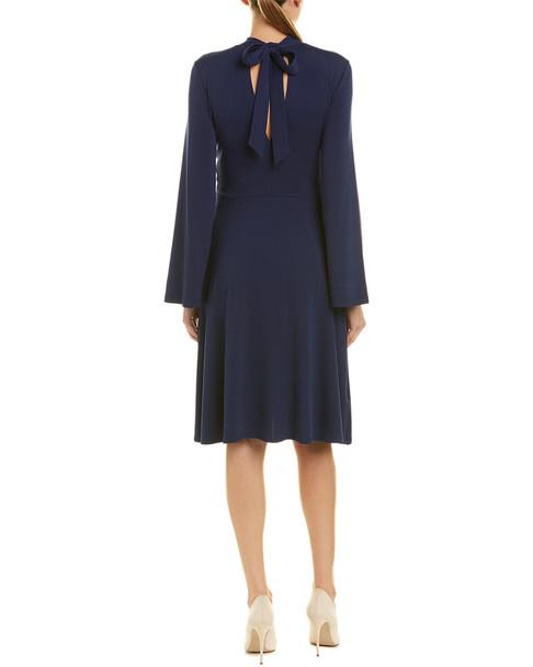 susana monaco Keyhole A-Line Dress~1411985465
