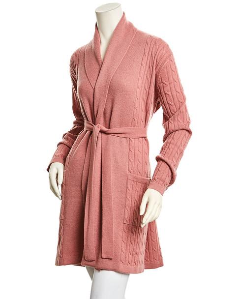 sofiacashmere Short Cashmere Robe~1412750947