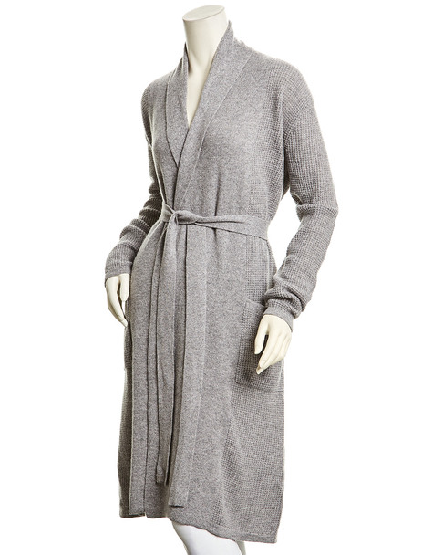 sofiacashmere Thermal Bathrobe~1412962004