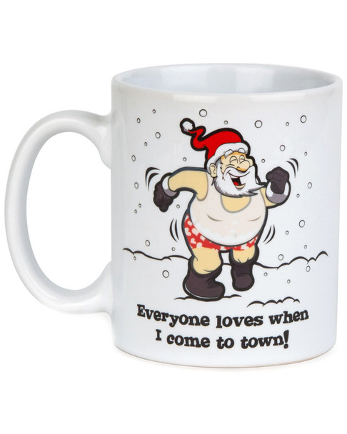 Big Mouth Color Changing Santa 12oz Mug~3010197659