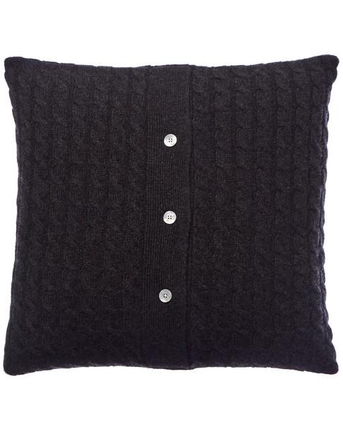 sofiacashmere Classic Cable Cashmere Pillow Cover~3030951885
