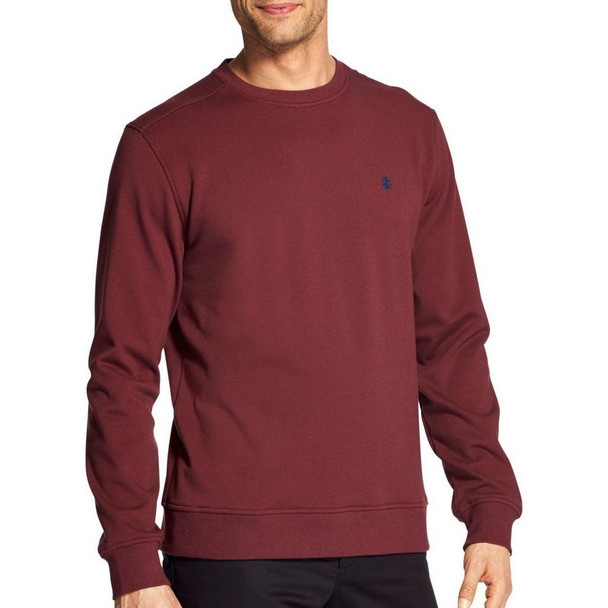 IZOD Mens Advantange Solid Pullover Sweatshirt~45GK008