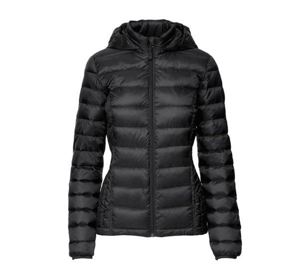 32 DEGREES Womens Ultra Light Weight Down Packable~Black*TLF80281MRT