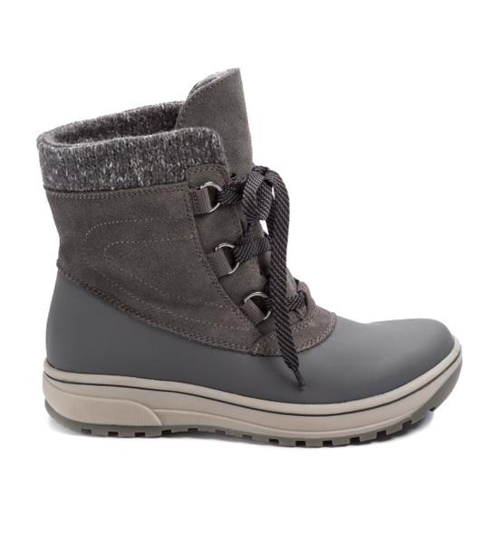 Baretraps Devon Cold-Weather Lace-Up Bootie~Grey*BT25603