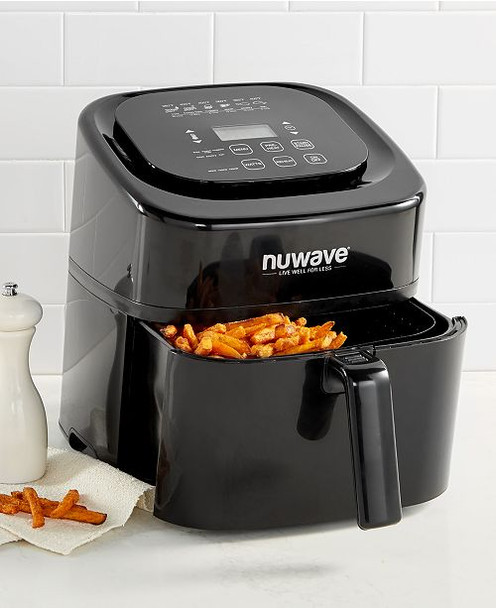 NuWave 6qt Digital Air Fryer Black~652185370012